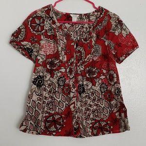 Christopher Banks floral cotton top